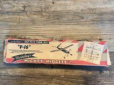 """""""V-16"""" Mighty-Midget Model Kit by Berkeley"""