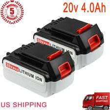 For Black & Decker 20V Max Lithium Battery 4.0Ah Lbxr20-Ope Lb20 Lbxr20 Lbx4020