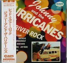 JOHNNY AND THE HURRICANES-RED RIVER ROCK-JAPAN MINI LP CD BONUS TRACK C94