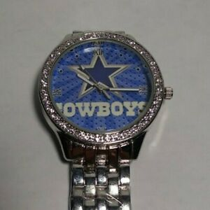 Dallas Cowboys Womens NFL Luxury Stainless Steel Watch - (RARE) NEW