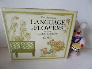 The Illuminated Language of Flowers Kate Greenaway Jean Marsh 1978 HB/DJ