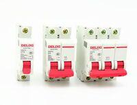 MCB SAFETY SWITCH CIRCUIT BREAKER 1 Pole 2 Pole 10A 16A 20A 25A MCB