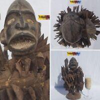 PREEMINENT Bakongo Kongo Nkisi Figure Sculpture Statue Mask Fine African Art