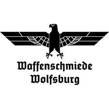 Auto Aufkleber Waffenschmiede Wolfsburg Adler Heckscheibenaufkleber Wunschfarbe