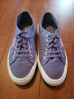 Superga Cotu Sneaker white canvas size 39.5/Men 7 /Women 8.5
