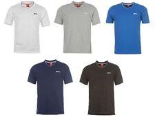 Slazenger Short Sleeve Solid T-Shirts for Men