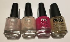 DESTOCKAGE MOLLON PRO @ LOT DE 4 TOP COAT, BASE,VERNIS EXTREME NEUF @ Neuf 35€