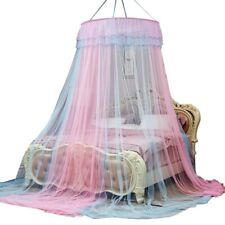 Mosquito Net Princess Hanging Dome Canopy Mesh Lace Bed Curtains Tent Breathable