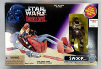 Kenner Star Wars Shadows Of The Empire Swoop Vehicle Fires Torpedo w/ Trooper