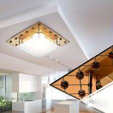 Lampe de couverture Verre Métallique Cuivre Design miroir la vie ess chambre