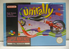 UNIRALLY - SNES SUPER NINTENDO PAL BOXED