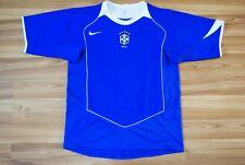 SIZE M BRAZIL BRASIL NATIONAL TEAM 2004/05/2006 AWAY FOOTBALL SHIRT JERSEY NIKE