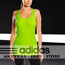 $65 Adidas Performance Tank Compression Top Womens TechFit™ ClimaCOOL® Singlet M