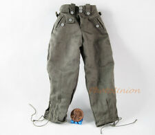 ACTION FIGURE 1:6 WW2 GERMAN LAH PANZERGRENADIER Uniform Trousers Pants FH_1C