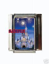 Disney Castle #2 Custom Italian Charm Magic Kingdom