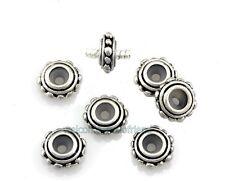 20pcs Antique Silver Plated Stopper Rubber Charms Beads Fit Bracelet K35