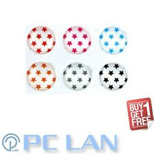 6 PCS Star Home Button Sticker for iPhone 3G/3GS/4/4S iPad 1/2/3 + Bonus Set