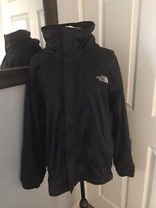 Mens The North Face Hyvent Jacket Size Medium- Black