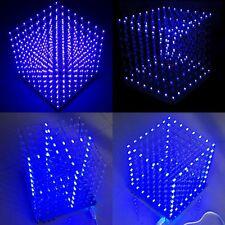 Arduino DIY 8x8x8 LED Cube 3D Light Square Electronic Soldering Sarter Kit Board