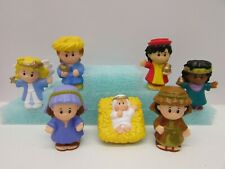 Fisher Price Little People Nativity Characters Modern Set of 7 New! Great Gift!
