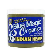 Blue Magic Organics Indian Hemp Herbal Hair & Scalp Conditioner 12oz