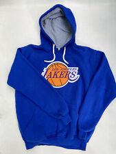 LA Lakers Basketball Hoodie Blue Logo Front Size 2XL XXL