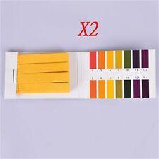 2stk 160 pH Teststreifen Alkalische Säure 1-14 Papier Tester Lab Urin Speichel