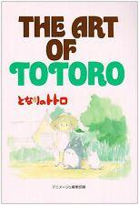 JAPAN Book: My Neighbor Totoro The art of Totoro Studio Ghibli