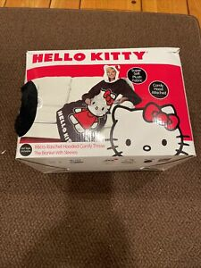 Hello Kitty Micro Raschel Hooded Confy Throw