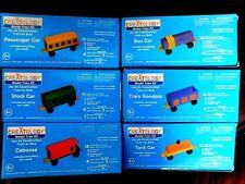 Creatology (6) Wood Model Train Kits