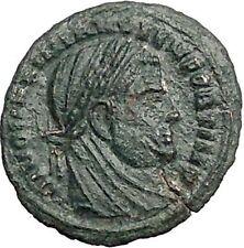 DIVUS Maximian AE4 Deification under CONSTANTINE I the Great Roman Coin i55905