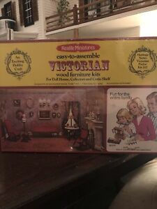 Realife Miniatures 1979 Heritage Series Victorian Parlor Kit 202 NEW SEALED!