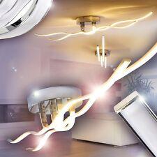 Led ceiling flush light chrome finish kitchen spot lamp IP20 lighting new 148313