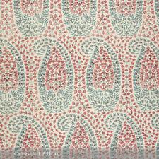 Lisa Fine Textiles Handprinted 100% Linen Fabric- Lahore / Calico 3.50 yd Lah/40