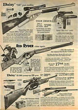 1974 ADVERTISEMENT BB Gun Rifle Daisy Red Ryder M/880 Old West Treasure Chest