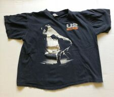 VTG 80s U2 RATTLE AND HUM t shirt SIZE XL FADED AND WORN BOXY FIT