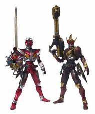 S.I.C. Vol. 45 Masked Kamen Rider DEN-O LINER FORM & ZERONOS ZERO FORM BANDAI