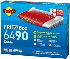 """AVM FRITZ!Box 6490 Cable WLAN AC + N Router """"SEHR GUT"""""""