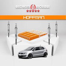 KIT 4 CANDELETTE VW POLO V 6R 1.6 TDI 55KW 75CV 2014 -> GE115