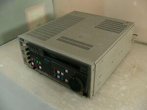 JVC Hi-Fi/ S VHS Editing Recorder Typ- BR-S810E   #589