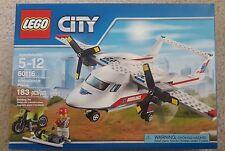 LEGO City Ambulance Plane (60116) - NIB - Free Shipping (Lot # 25)