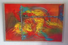 """""""Goldrausch"""" Acryl Gemälde der Künstlerin Hilde Ament Art Painting Unikat !"""