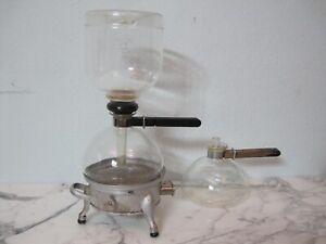 Original Sintrax Kaffeemaschine Schott Jenaer Glas Wagenfeld Marcks Bauhaus 30er