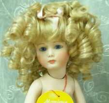 Monique Doll Wig - Charmaine Size 6-7 - Color Blonde - Lots Of Curls & Bangs