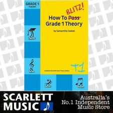 How to Blitz! Grade 1 (One / First) Theory - Samantha Coates Current Edition.