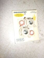 "NEW Dishmaster Tail Piece Nuts 3/8"" 7/16"" 1/2"" Seals and Washers *FREE SHIPPING*"