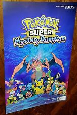 2 Pokemon Mystery Dungeon posters Limited Mall promotion Nintendo 3DS game