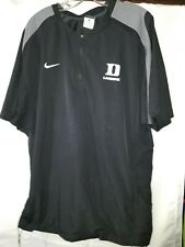 Nike Duke Lacrosse Short Sleeve Wind shirt size Large