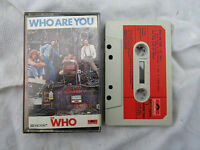 CASSETTE WHO WHO ARE YOU polydor 5004