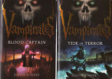 Complete Set Series - Lot of 6 Vampirates books by Justin Somper YA Teen Vampire